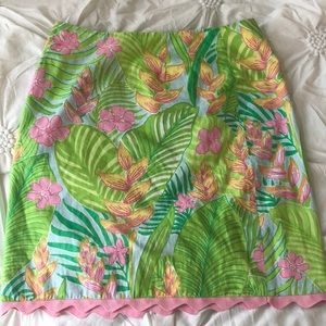 Tropical Print Lilly Skirt